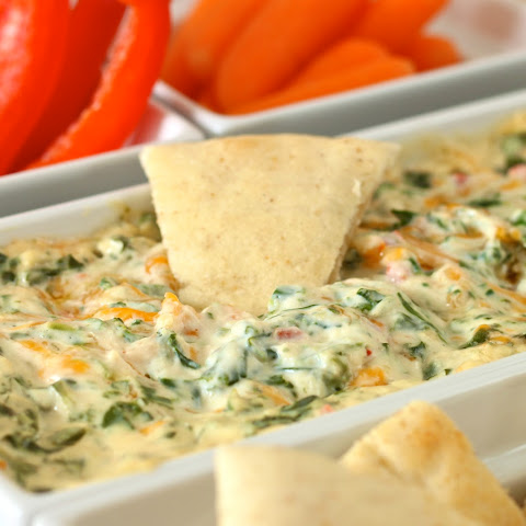 Four Cheese Spinach Dip Kelsey's Style