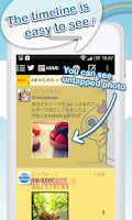 Screenshot of Tuippuru for Android(Twitter)