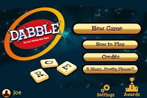 Screenshot of Dabble