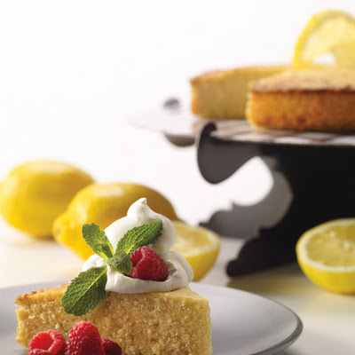 Flourless Lemon Almond Pound Cake