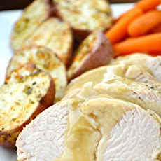 Tuscan Turkey Dinner for Two with Roasted Red Potatoes