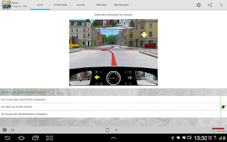 Screenshot of Auto - Führerschein, Klasse B
