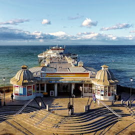 Cromer pier by Heather Ryder - Buildings & Architecture Other Exteriors ( cromer, norfolk, sea, pier, beach,  )