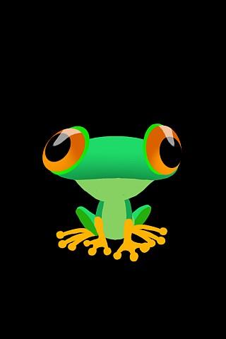 Cosmic Froggy Wallpaper