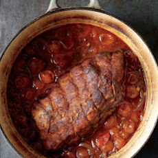 Pork Shoulder Roast with Tomatoes