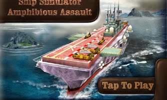 Screenshot of Ship Sim - Amphibious Assault