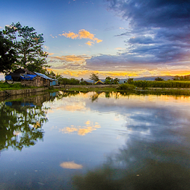 reflektion of river waebabi by Fadli 'Zazg' - Landscapes Travel