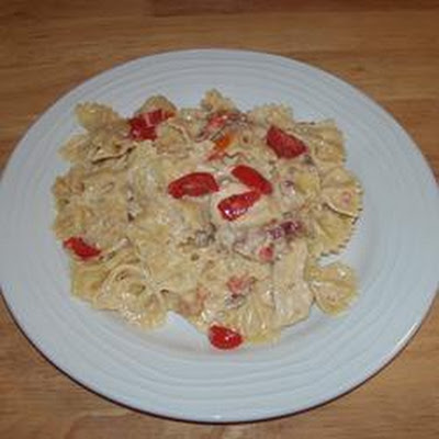 Farfalle Carbonara Plus