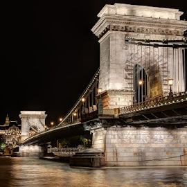 Bridge in Budapest by Matthew Haines - Buildings & Architecture Bridges & Suspended Structures