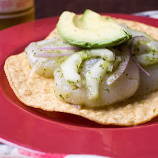 Scallop Aguachile With Jalapeño, Cucumber, and Avocado