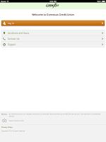 Screenshot of Connexus Credit Union