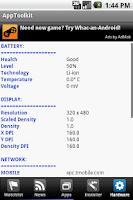 Screenshot of AppToolkit