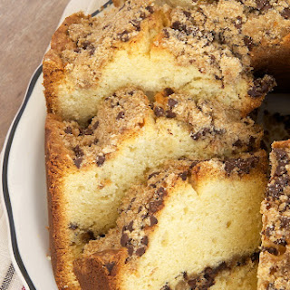 Chocolate Chip Crumb Pound Cake