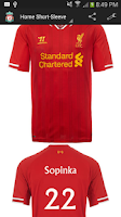 Screenshot of Liverpool Jersey Creator