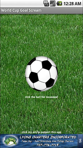 World Cup 2010 Goal Scream