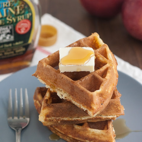 Cornmeal and Ricotta Waffles