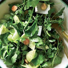 Watercress Salad with Warm Vinaigrette