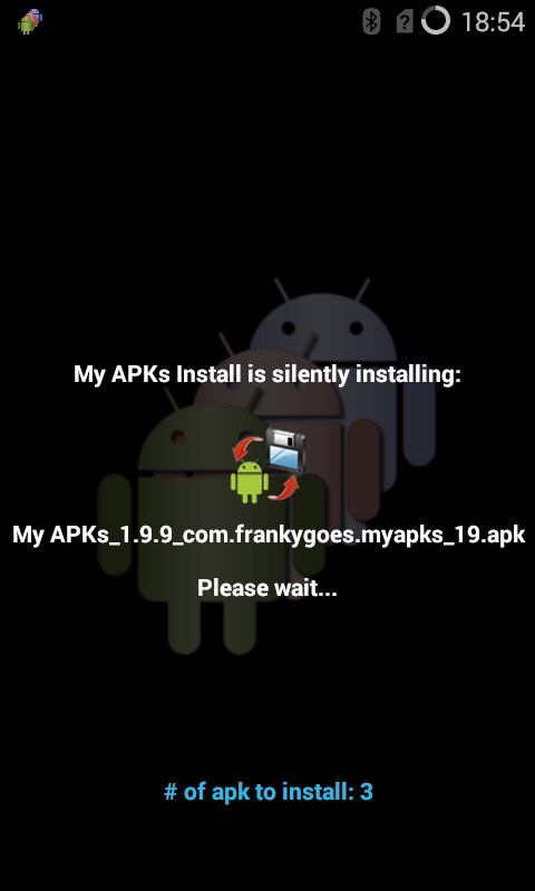 My APKs Install restore apps Screenshot 6