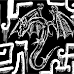 Black and white challenge dragon?
