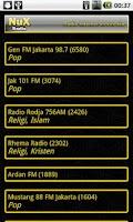 Screenshot of Nux Radio (Deprecated)