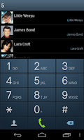 Screenshot of ExDialer SGS3 Theme