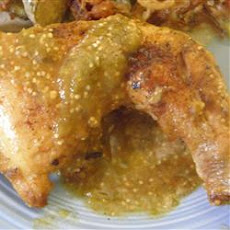 Suegra's Tomatillo Chicken
