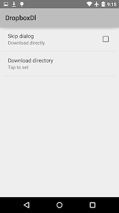 Downloader for Dropbox - screenshot