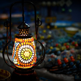 Magic Lantern by Prasanta Das - Artistic Objects Glass ( lantern, magic, lamp shade, glass )
