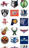Screenshot of Basketball Logo Quiz
