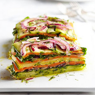 Stacked Summer Vegetable Salad