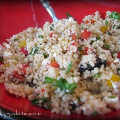Whole Foods Mediterranean Couscous Salad….Picky Palate version