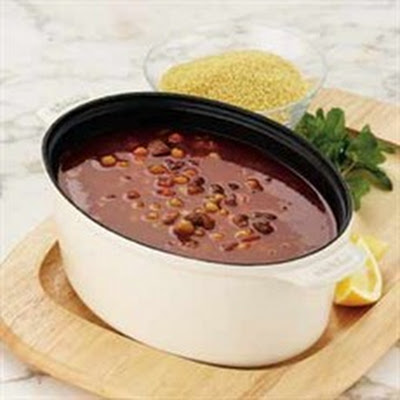 Libyan Soup with Couscous