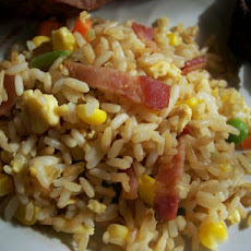 Bacon Garlic Fried Rice