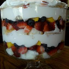 Angel Fruit Trifle