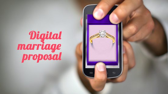Marriage Proposal Apllication - screenshot