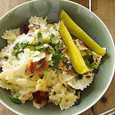 Horseradish Mac 'n' Cheddar with Bacon