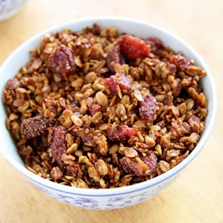 Strawberry Hemp Granola Rezept | Yummly