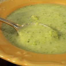 Broccoli and Stilton Cheese Soup