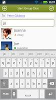 Screenshot of BeejiveIM for Google Talk Free