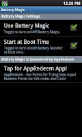 Screenshot of Battery Magic