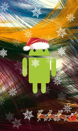 Nice Santa Droid Wallpaper
