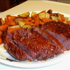 Glazed Corned Beef