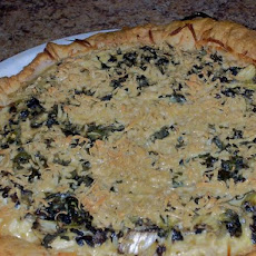 Chef Joey's Herb and Mushroom Quiche (Dairy Free)