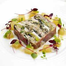 Prosciutto-wrapped Chicken & Leek Terrine