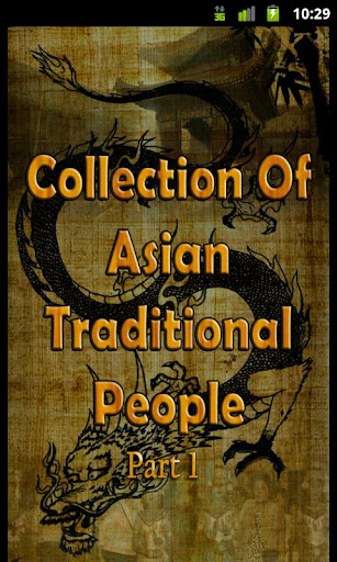 Asian Traditional People