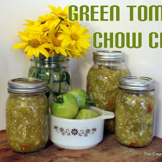 Canning Green Tomatoes Recipes