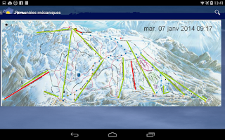 Screenshot of Météo Chamrousse