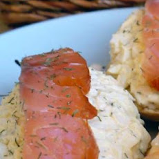 Smoked Salmon and Egg Salad Tartines