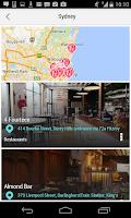 Screenshot of Sydney City Guide