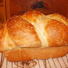 Bread Machine Kneaded Challah